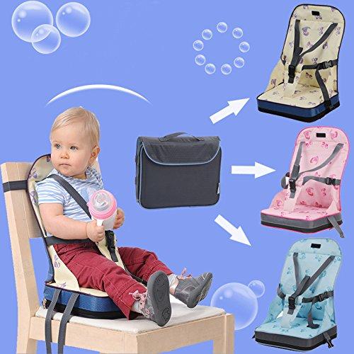smartlife Port Baby Esszimmerstuhl Tasche mit sicheren Geschirr Oxford wasserfesten Stoff Baby 2in 1Krankenschwester Tasche und Stuhl -
