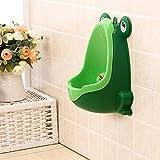 zhoke Frosch Form Kinder WC Urinal Kind grün