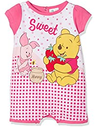 Winnie the Pooh Baby Girls' Sweet Romper