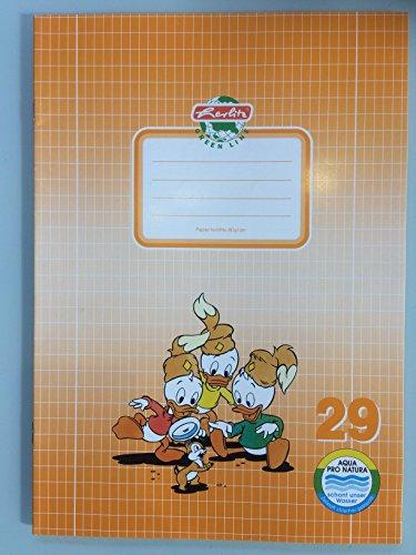 2 Stck Hefte für die Schule Schulheft Kariert A4 Lineatur 29 Disney Motive