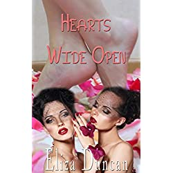 LESBIAN: LESBIAN FOOT WORSHIP EROTIC ROMANCE: Hearts Wide Open (BBW Mature and Asian Japanese Teen - Erotica and Sex Fantasy with Scissoring and Fingering) (English Edition)