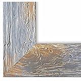 Bilderrahmen Capri Grau 5,8-30 x 40 cm - LR - 500 Varianten - Alle Größen - Handgefertigt - Galerie-Qualität - Antik, Barock, Landhaus, Shabby, Modern - Fotorahmen Urkundenrahmen Posterrahmen