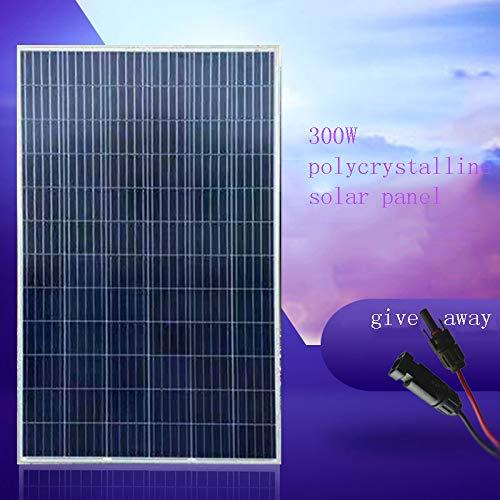 300 Watt Polykristallines Solarpanel Solarpanel Stromerzeugungsplatine Photovoltaik-Stromerzeugungssystem 12V Nach Hause,24V