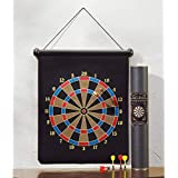 Quit-X™ Magnetic Dart Board Double Sided Hanging Dart Board Set - B07HNLMGT3