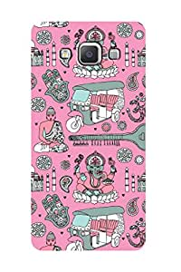 ZAPCASE Printed Back Case for SAMSUNG GALAXY A5