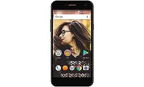 Wileyfox Spark + - 5-Zoll-HD Display (Dual-SIM-Funktionalität 4G) SIM freies Smartphone, 13MP Kamera, 2GB RAM, Android 7.0 (demnächst). - Schwarz