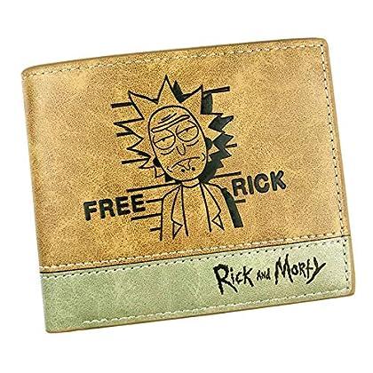 Rick & Morty - Cartera de Piel Artificial para Adulto