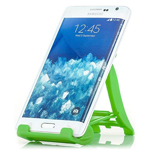 Saxonia Tablet/Smartphone Stand - Ständer Tisch Halterung Universal Handyhalterung und E-Book Reader Grün