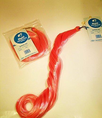 Cheveux Synthétiques pony-tail tressage (100% fibre coréen) Lot de 2en rose