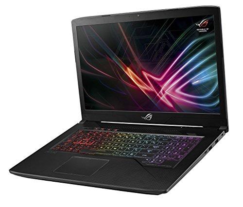 Asus ROG Strix GL703VM-BA175T PC portable Gamer 17,3' Full HD Noir (Intel Core i7, 8 Go de RAM, Disque dur 1 To + SSD 128 Go, Nvidia GeForce GTX1060 3G, Windows 10) Clavier AZERTY