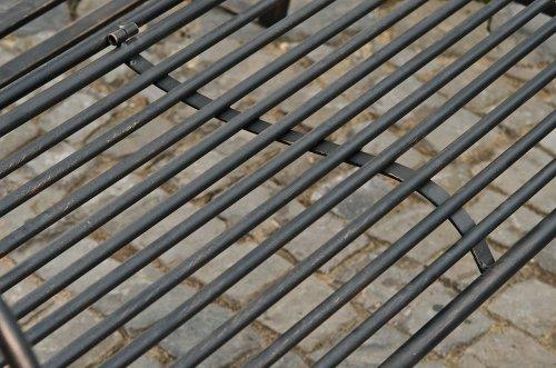CLP 2 Sitzer / 3 Sitzer Garten Hollywoodschaukel AIMEE, Landhaus-Stil, Metall (Eisen) bronze - 7