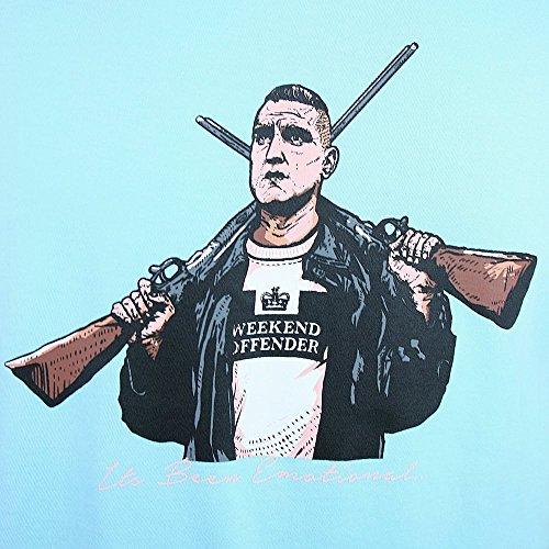 Weekend Offender Vinnie Tee Blau