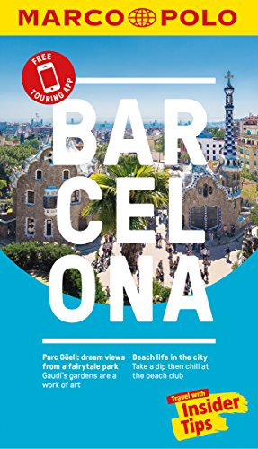 Barcelona Marco Polo Pocket Travel Guide 2018 - with pull out map (Marco Polo Guides)