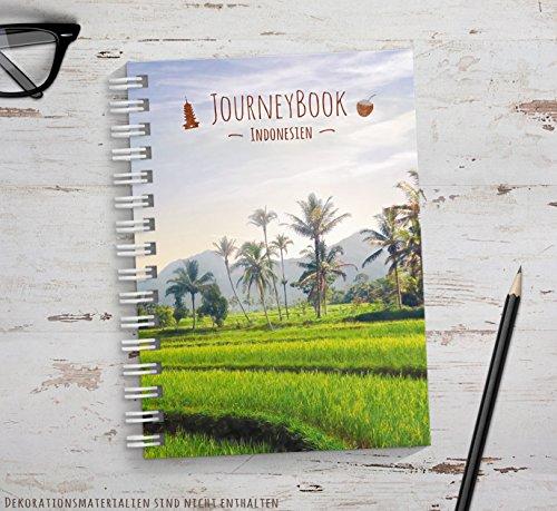 Reisetagebuch Indonesien zum selberschreiben oder als Abschiedsgeschenk