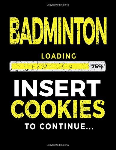 Badminton Loading 75% Insert Cookies To Continue: Badminton Sketch Draw and Doodle por Dartan Creations