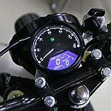 XuBa - Tachimetro universale LCD per moto, strumento contachilometri per scooter