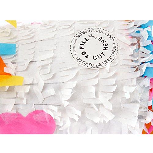 Pinata Piñata Torte Einhorn Schatztruhe Papier Geburtstag Mottoparty Süßigkeiten Geschenk (Einhorn) - 4