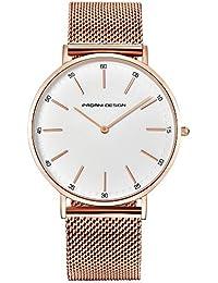f685e771e458 Reloj para Mujer Pagani Design con Cristal De Cuarzo - Reloj para Mujer a  Prueba De