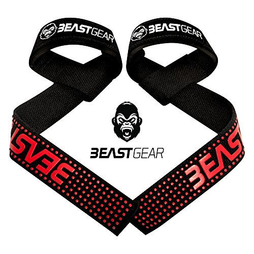 Correas Levantamiento Pesas Beast Gear - Correas Profesionales