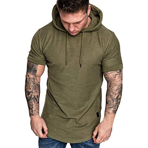 JYC-Blusa Camiseta Verde Mujer,Camiseta Rockera Mujer,Abrigo...