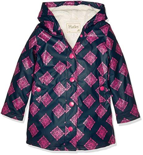 Hatley Splash Jacket-Sherpa Lined, Impermeable para Niños Hatley
