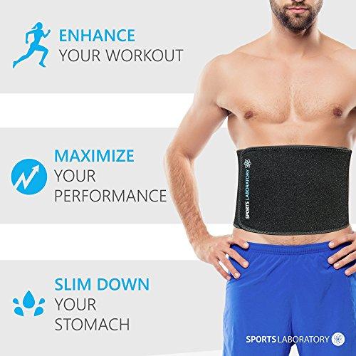 Zoom IMG-2 sports laboratory fascia dimagrante cintura