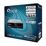 Plextor 891saf-Plus Masterizzatore DVD/RW, 24velocità, SATA, Dual Layer, Nero con PLEX Tools (versione completa), Confezione di vendita al dettaglio immagine