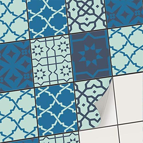 creatisto Fliesenfolie Fliesenaufkleber Mosaikfliesen - Aufkleber Sticker für Wandfliesen | Stickerfliesen - Mosaikfliesen für Küche, Bad, WC...
