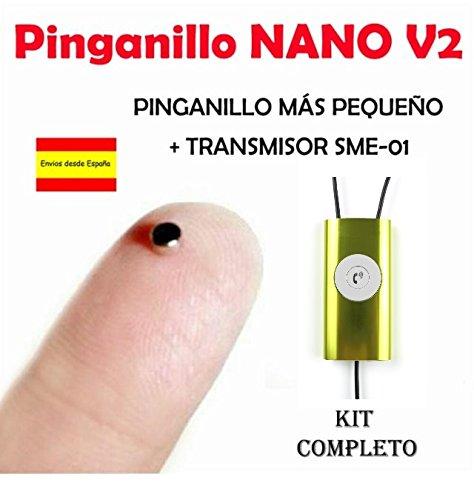 Pinga Nano V2 KIT COMPLETO (Negro/Amarillo)