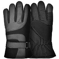 Cooolla Cálidos guantes para Esquiar en Bicicleta al Aire Libre Guantes para Pantalla Táctil