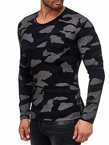 Red Bridge Herren Oberteile/Longsleeve Dotted Camouflage