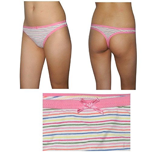 3 PACK: dames Culottes Sexy G String extensible String / Slip - Marques mixtes - Multicolore Multicolore
