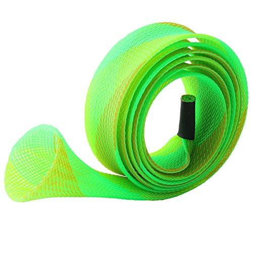 styleinside® DIY Stick Haut Angelrute Erweiterbar Geflechtschlauch Glove Cover Schutzfolie (Sneaker-speicher-fall)
