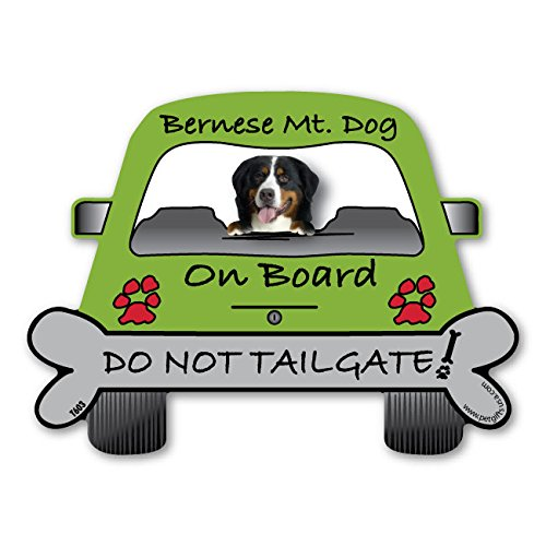 Price comparison product image Bernese Mountain Dog On Board - Do Not Tailgate Car Magnet