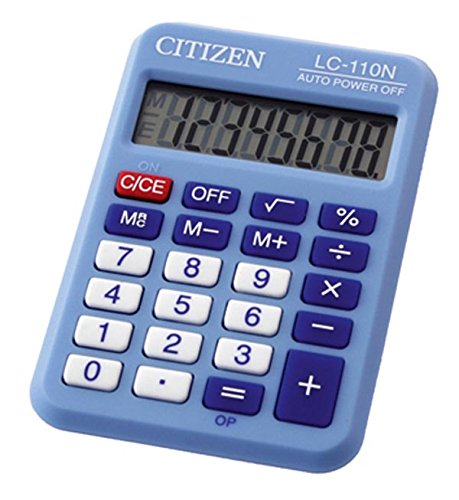 Citizen lc110nblbp Taschenrechner (Basic Calculator)
