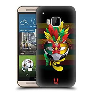 Head Case Designs Cameroun Set De Carnival 1: Football Étui Coque D'Arrière Rigide Pour HTC One M9