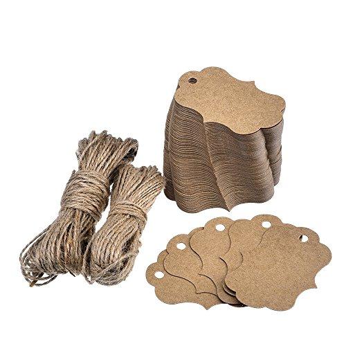 outus-etichetta-kraft-carta-di-regalo-tag-100-pezzi-con-30-metri-di-spago-iuta-naturale