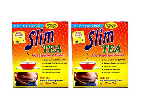 Khadi Slim Tea – Herbal Green Tea – Natural Slim Tea For Weight Loss (Pack Of 2)