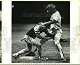 Vintage Photos 1988 Press Photo John Jay et Brownsville Play High School Baseball – Sas07764