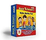 Mathematik Spiele für Kinder, KS2, KS1, KS3–Race to Infinity ™-Fun Mathematische Board Spiel, mit Würfeln, für Kinder, um Vertrauen–Perfekt für Bild zum Üben Times Tables, Addition und Subtraktion, Multiplikation und division- ideal für Alter 40–47Jahren, Primäre und Sekundäre Schule, Jugendliche, Lehrer, auch Erwachsene. Spiel für beide Mathematik whizzes und maths-phobics–Die # 1Weise, Praxis zu rechnen mit Ihrem Kind einfach ohne stress-get jetzt, da Große dieser Preis, bevor Sie 're All Gone.