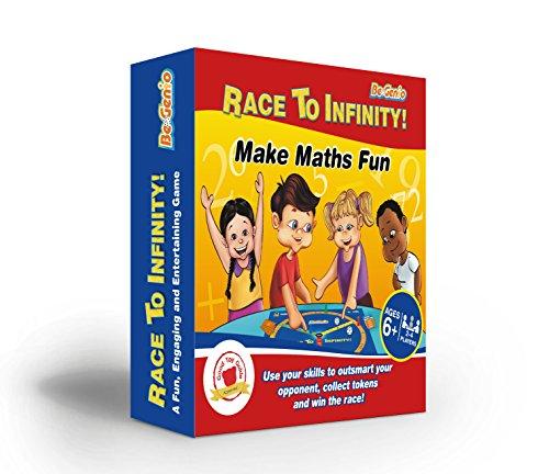 (Mathematik Spiele für Kinder, KS2, KS1, KS3–Race to Infinity ™-Fun Mathematische Board Spiel, mit Würfeln, für Kinder, um Vertrauen–Perfekt für Bild zum Üben Times Tables, Addition und Subtraktion, Multiplikation und division- ideal für Alter 40–47Jahren, Primäre und Sekundäre Schule, Jugendliche, Lehrer, auch Erwachsene. Spiel für beide Mathematik whizzes und maths-phobics–Die # 1Weise, Praxis zu rechnen mit Ihrem Kind einfach ohne stress-get jetzt, da Große dieser Preis, bevor Sie 're All Gone.)
