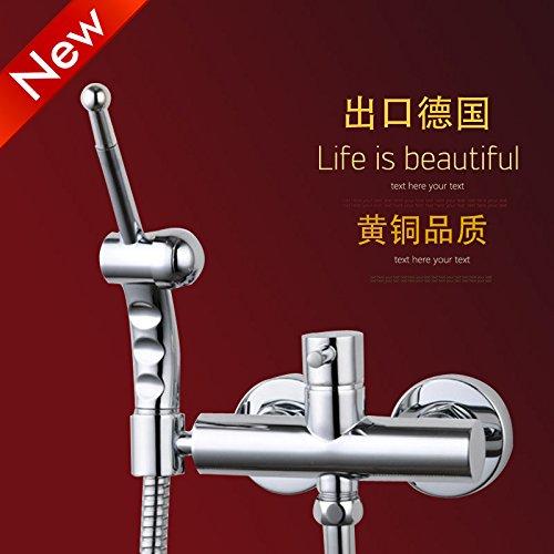 GFEI côté ménages pommeau de douche et toilettes nettoyage pistolet laveuse et multifonctionnelle,trou de 1,2 million 8.5cm flexible distance