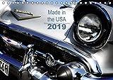 Made in the USA - Klassische Autos aus Amerika (Tischkalender 2019 DIN A5 quer): Alte Karossen in faszinierenden Detaila