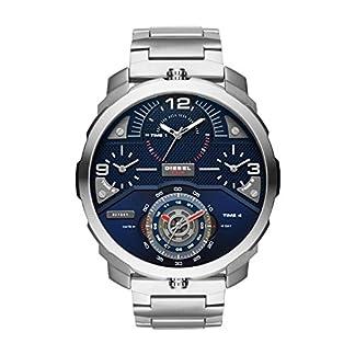 Diesel Reloj Analógico para Hombre de Cuarzo con Correa en Acero Inoxidable DZ7361