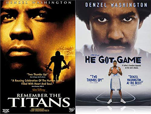 Denzel's Greatest Sports Movies - Remember The Titans & He Got Game 2-DVD Feature Film Collection