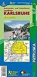 Landkreis Karlsruhe Nordteil: Radwander- und Freizeitkarte, Maßstab 1 : 40.000