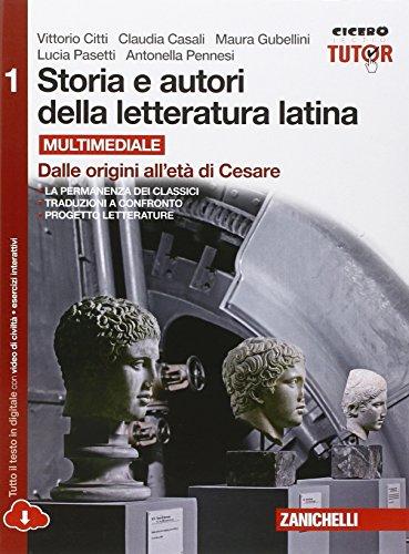 Storia e autori della letteratura latina-Itinera compone. ediz. rossa.Con e-book. Per le Scuole superiori. Con espansione online: 1