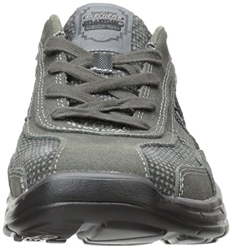 Skechers Glides Status, Sneakers basses homme gris (CHAR)