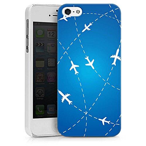 Apple iPhone 7 Silikon Hülle Case Schutzhülle Flugzeug Reise Urlaub Hard Case weiß