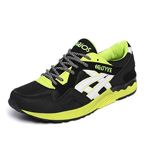 Men's Light Breathable Lace Up Running Shoes 9